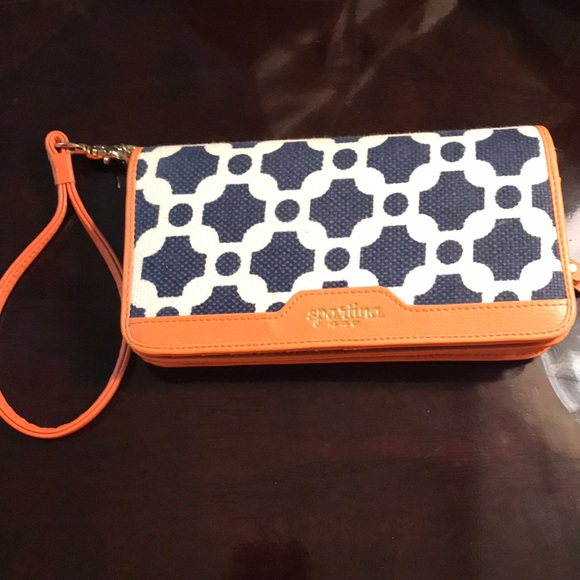 5293b7ee9014 Spartina 449 May River continental clutch wallet. M 5ab2fac572ea88739231be5c